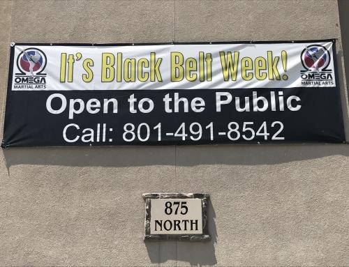 Next Week is Black Belt Week!